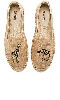 Модные слипперы жираф - Soludos