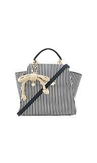 Eartha iconic convertible striped canvas backpack - Zac Zac Posen