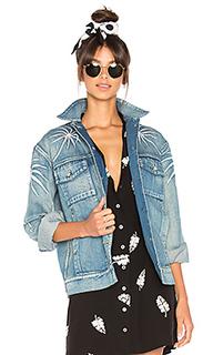 Джинсовая куртка с вышивкой palma - Capulet