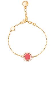 Enamel logo disc bracelet - Marc Jacobs