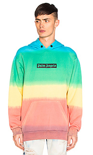 Rainbow tie dye hoody - Palm Angels