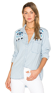 Brett embroidery button up - Rails
