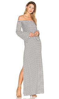 Платье макси с разрезом сбоку - ANIMALE