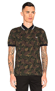 Camoflauge pique polo - Fred Perry