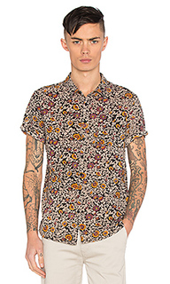Black floral shirt - ROLLAS
