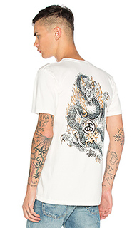 Футболка fire dragon - Stussy