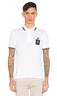X art comes first printed twin tipped polo - Fred Perry