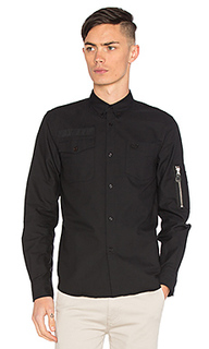 X art comes first pocket detail oxford shirt - Fred Perry