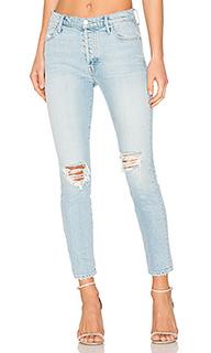 Скинни джинсы до лодыжек easy does it - MOTHER