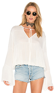 Bijoux shirred blouse - C&C California