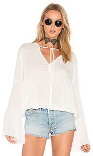 Bijoux shirred blouse - C&C California