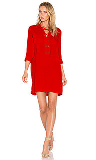 Lace up pocket dress - 1. STATE