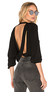 Chet open back crop sweatshirt - Riller & Fount