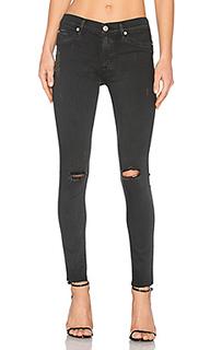 Джинсы скинни средней посадки - Hudson Jeans