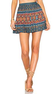 Плиссированная мини юбка libali - FARM