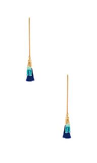 Threader earring with tassels - Rebecca Minkoff