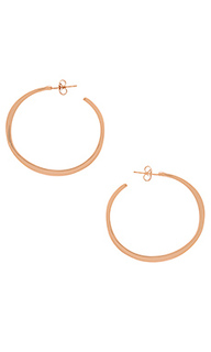 Arc hoop large earrings - gorjana