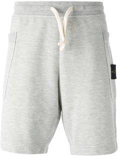 спортивные шорты с накладными карманами Stone Island