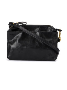zip up shoulder bag Corneliani