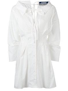 платье-рубашка с плиссировкой Jacquemus
