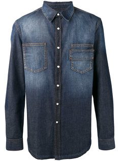 джинсовая рубашка на пуговицах Givenchy
