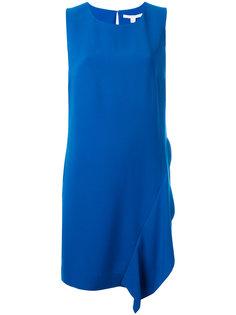 свободное платье с асимметричной деталью Diane Von Furstenberg