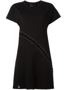 платье мини Bondage Philipp Plein