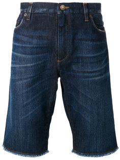 джинсовые шорты с необработанными краями Dolce & Gabbana