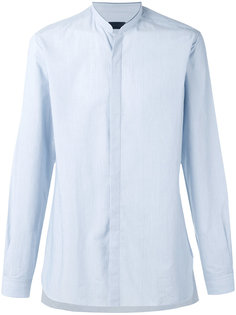 рубашка с воротником-мандарин Lanvin