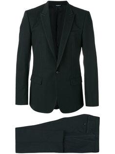костюм с контрастной строчкой Dolce & Gabbana
