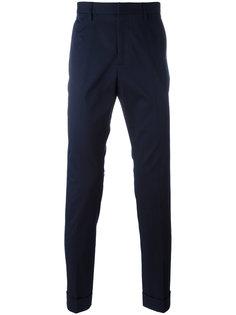 классические брюки чинос с вышивкой Gucci