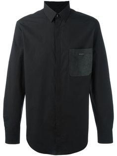 рубашка с накладным карманом Fendi
