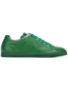 классические кроссовки на шнуровке Fendi