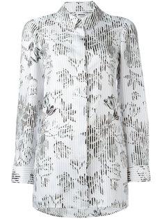блузка свободного кроя с цветочным узором Salvatore Ferragamo
