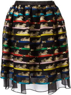 tiger print algernon skirt  Mary Katrantzou