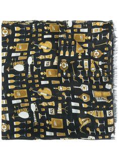шарф с принтом Dolce & Gabbana
