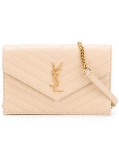 сумка-конверт на плечо Saint Laurent