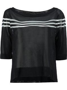 блузка в полоску Fendi