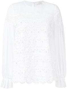 блузка с фестонами Capucci