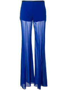 расклешенные брюки Alberta Ferretti