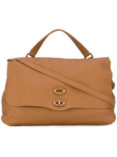 большая сумка-тоут с заклепками Zanellato