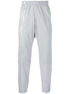 брюки с блестящими полосками Adidas By Kolor