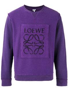 толстовка с принтом-логотипом Loewe