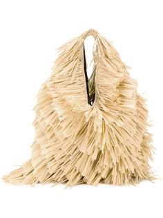 сумка на плечо с бахромой Mm6 Maison Margiela