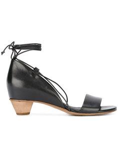 босоножки со шнуровкой Roberto Del Carlo