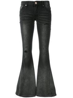 расклешенные джинсы с заниженной талией One Teaspoon