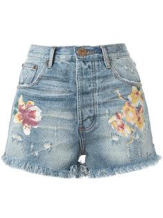 джинсовые шорты One Teaspoon