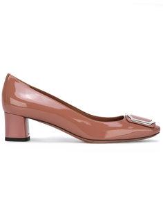 туфли на низких каблуках Bally