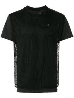 футболка с сетчатой отделкой Adidas By Kolor