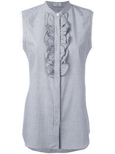 рубашка с рюшами Brunello Cucinelli